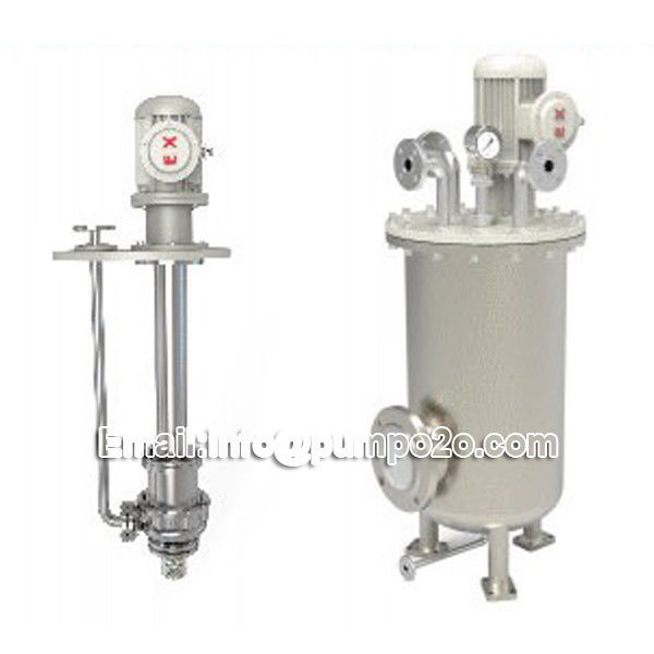 YYDM no leakage double shell magnetic submerged pump
